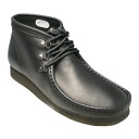 [Clarks] of wallaby boots newly design, WALLABEE ROCK 612C (black) 20341928