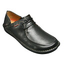 Wide G wise & lightweight casual shoe, UN LIVERPOOL ( アンリバプール )-710 C (black) 20346823