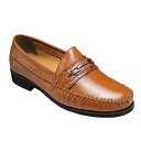[MODELLO VITA] wide (3E) business & casual shoes bit, VT5532( cognac)