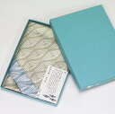 Ito sand pattern double-sided wrapping 100 poly pongee reversible / eco / greetings