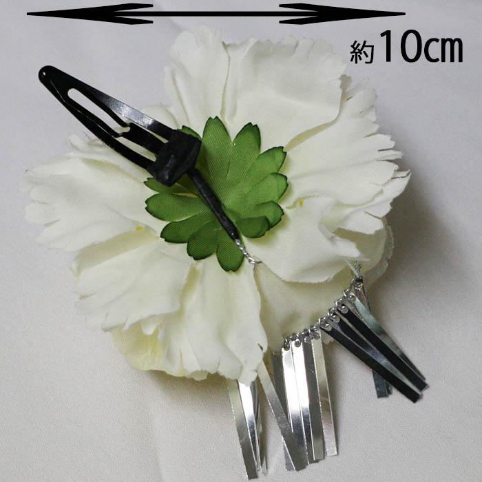 手工制作的头饰花卉装饰梳子簪子七五三儿童节日/银佐料/毛附件/发夹