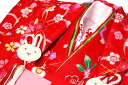 "3-year-old celebration set for kimono luxury girls 被布 coat and demographic necessity ""when the cherry' embroidered kimono and heavy collar with 753 ringtones 被布 set"