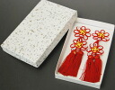 Boxed 被布 ornament Chamber Ribbon accessory, car 七五三, Festival, new year, party and receptions and photo imaging and 被布 Court 被布 3 hand-made craft