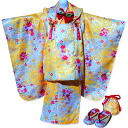 Luxury jimon in 3-year-old 被布 kimono set 11 pattern 3 kimono, nagajuban, 被布 Court, DrawString, ornament and sandals and ITA collar, kimono accessories 被布 set 七五三 / 3 years / 3 years old for