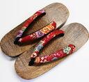 Yukata Geta Japanese pattern size 17 grilled Tung received lightweight rubber sandal yukata