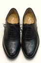 Full brogue / die knight sole (black)