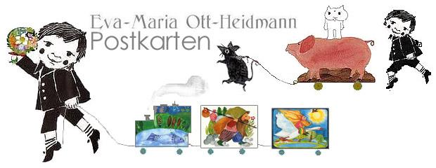 在那之后,使用原始绘画和明信片,作为儿童书作家,认真工作,使游戏.