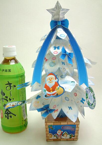 手工制作的剪纸圣诞树白树(10个人份安排)