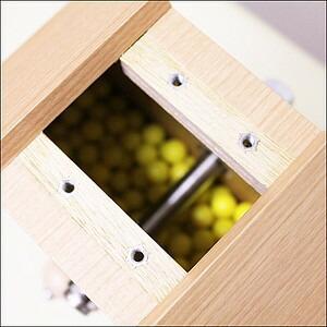 イベントグッズ/抽選用品/低価格タイプ木製ガラポン[ガラガラ]福引抽選器 500球用