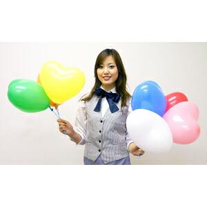 イベントグッズ/風船/ハート型風船