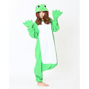 イベントグッズ/顔出し着ぐるみ/顔出し着ぐるみパジャマ カエル