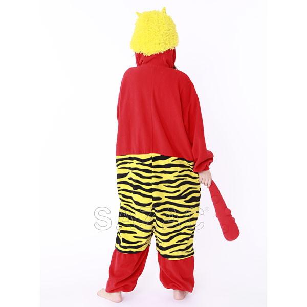 イベントグッズ/顔出し着ぐるみ/顔出し着ぐるみパジャマ 赤オニ