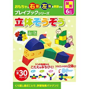 6歳児の脳育「本と、立体そうぞうキューブセット」
