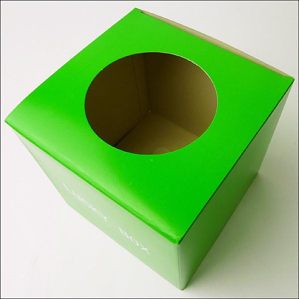 抽選箱 小 緑 16cm