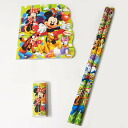 100 bags of six ミッキーミニー pencil sets