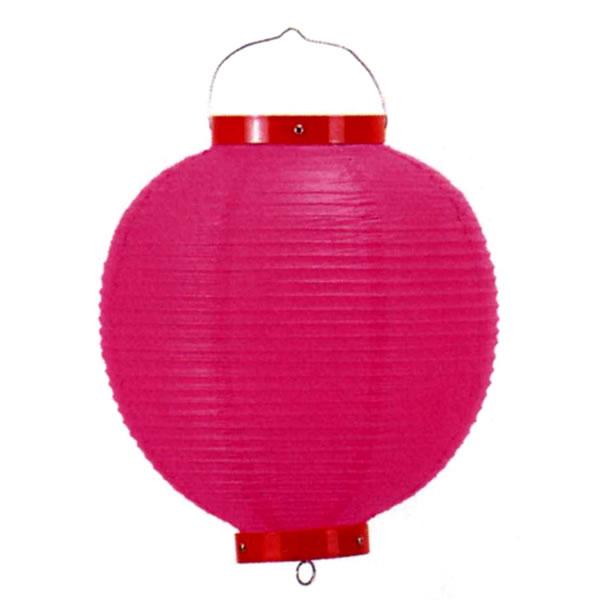イベントグッズ/提灯(ちょうちん)/カラービニール提灯[ちょうちん] ピンク