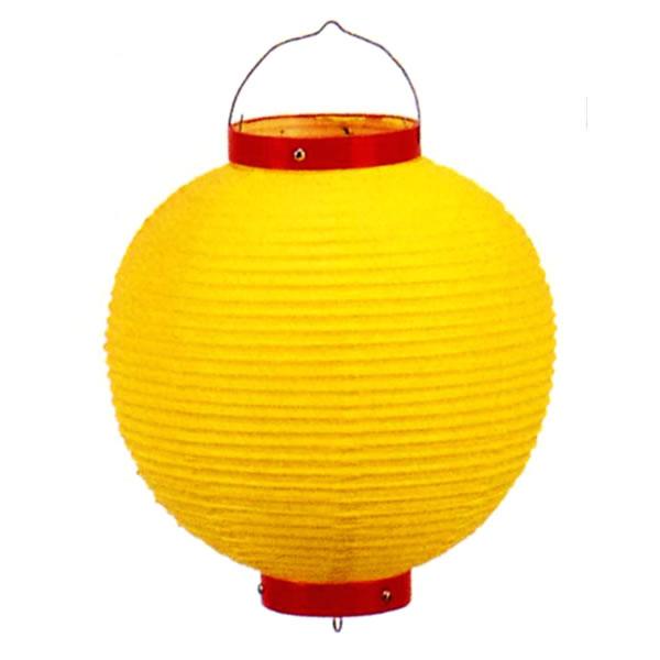 イベントグッズ/提灯(ちょうちん)/カラービニール提灯[ちょうちん] 黄色