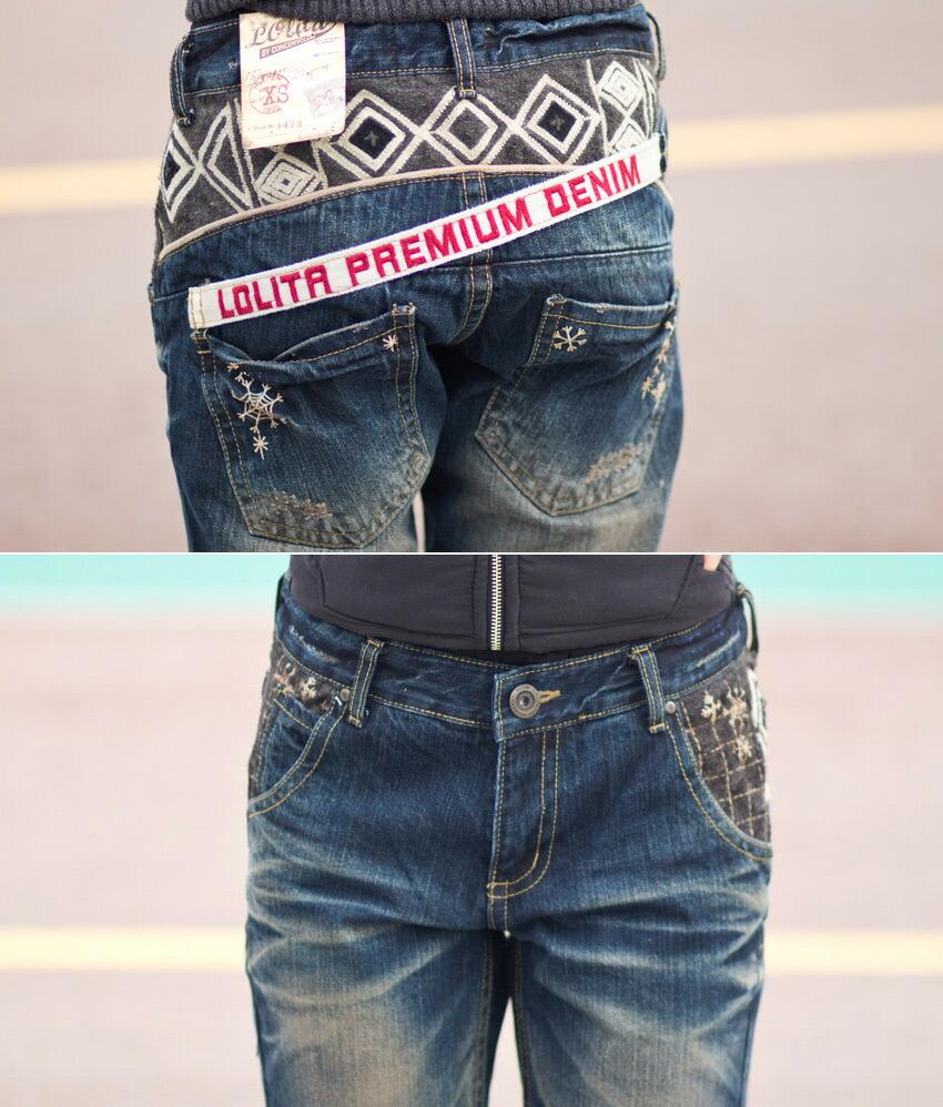 【入手困難ロリータ画像 】 ロリータ ジーンズ LOLITA JEANS 通販 lolita jeans サイズ◆lo-