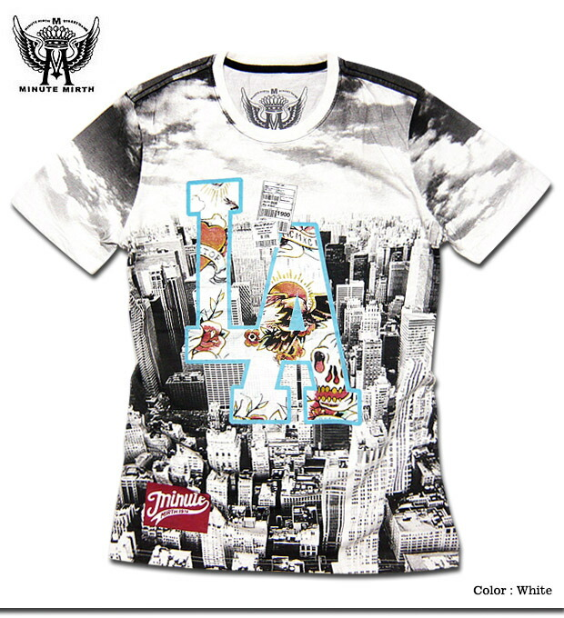 Eversoul plus rakuten global market short sleeve la for Full t shirt printing