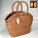 A mountain grape basket bag half moon mouth wooden tag free of charge name case is possible