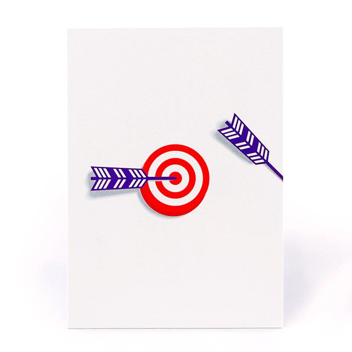 お祝い一般紙素材カード電報 106 ヒットマーク