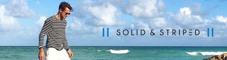 SOLID&STRIPED,ソリッド&ストライプ,通販