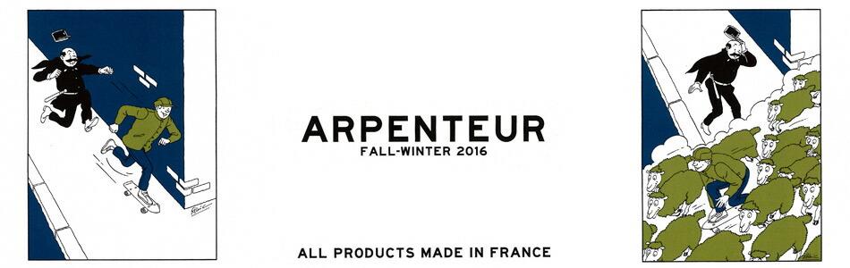 ARPENTEUR アーペントル,2016秋冬新作,通販