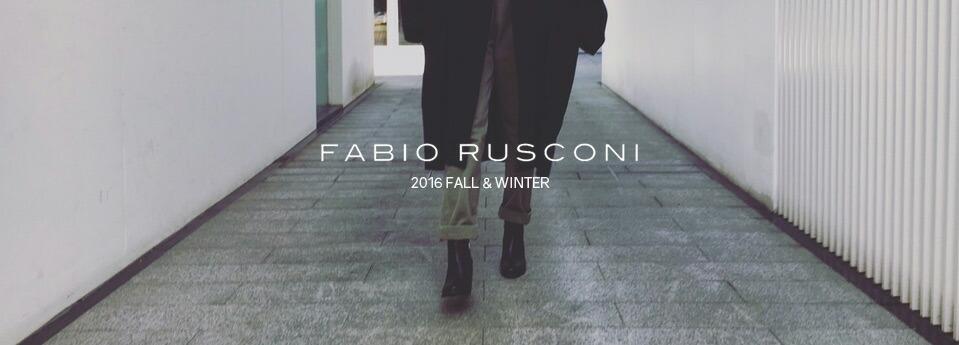 FABIO RUSCONI,ファビオルスコーニ,レディースファッション 2016秋冬新作,通販 通信販売