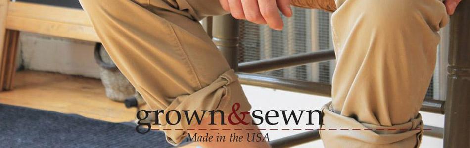 GROWN&SEWN,グロウン&ソーン,通信販売