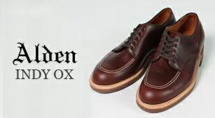 ALDEN(オールデン) MOC TOE OXFORD-CHROMEXEL 4002