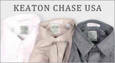 KEATON CHASE USA キートンチェイスUSA,メンズファッション 2017春夏新作 2017SS アメリカ製 シングルニードルシャツ,通販 通信販売