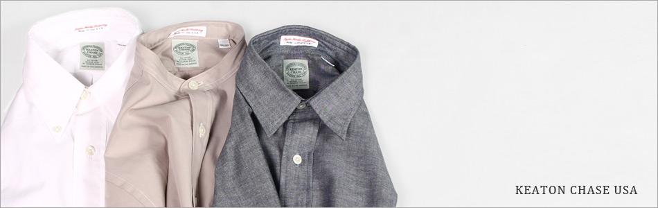 KEATON CHASE USA キートンチェイスUSA,2017春夏 カジュアルシャツ アメリカ製 メンズファッション,通販 通信販売
