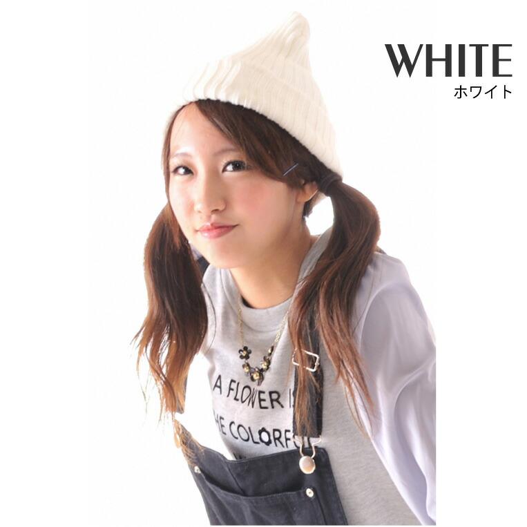 カラフルベーシック太編みニット帽