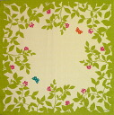 Furoshiki echino ( エチノ ) 綿中 furoshiki flower garden ( flower ) green (75 cm) made in Japan 10P04Aug13