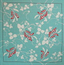 Blister wrapping oversized yumeji ( Sage ) cotton Shantung Furoshiki (90 cm) made in Japan 10P04Aug13
