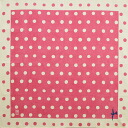 Yuzen furoshiki Takehisa yumeji polka dots (Pink) cotton Furoshiki (70 cm) made in Japan 10P04Aug13