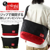Manhattan Portage �ޥ�ϥå���ݡ��ơ��� Flat Bush Messenger Bag / �ե�å� �֥å��� ��å��󥸥㡼�Хå�