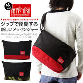 Manhattan Portage �ޥ�ϥå���ݡ��ơ��� Flat Bush Messenger Bag / �ե�å� �֥å��� ��å��󥸥㡼�Хå� (M������)