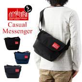Manhattan Portage �ޥ�ϥå���ݡ��ơ��� Casual Messenger Bag �����奢�� ��å��㡼 �Хå� S������