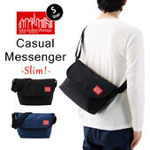 Manhattan Portage �ޥ�ϥå���ݡ��ơ��� Casual Messenger Slim �����奢�� ��å��󥸥㡼�Хå� �����