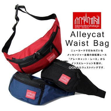 Manhattan Portage �ޥ�ϥå���ݡ��ơ��� ALLEYCAT WAIST BAG ���쥤����å� �������� �Хå�