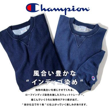 Champion �����ԥ��� REVERSE WEAVE ��С����������� ����ǥ��� ���롼�ͥå� �������å� �����