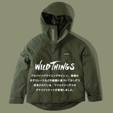 WILD THINGS �磻��ɥ��� DENALI JACKET �ǥʥ� ���㥱�å�