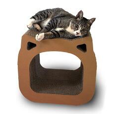 【ふるさと納税】猫の爪とぎ・アメリカンショートヘア