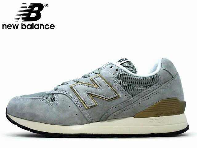New Balance Grey Gold