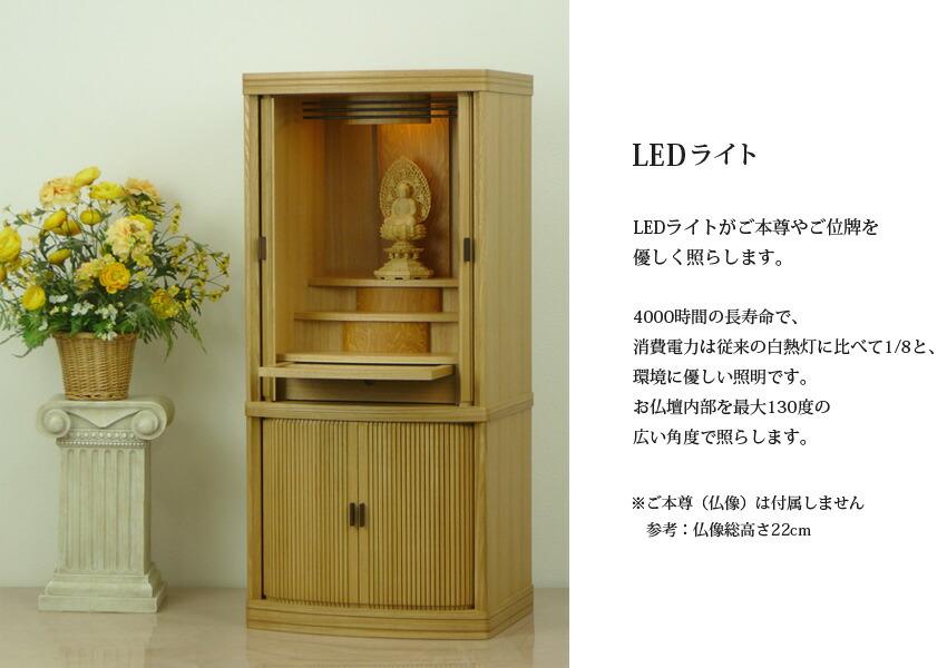 LED�饤�ȡ�LED�饤�Ȥ�����º�䤴���פ�ͥ�����Ȥ餷�ޤ���4000���֤�Ĺ��̿�ǡ��������ϤϽ������Ǯ������٤�1/8�ȡ��Ķ���ͥ���������Ǥ�����ʩ�����������130�٤ι������٤ǾȤ餷�ޤ���������º����°���ޤ����͡�ʩ����⤵22cm