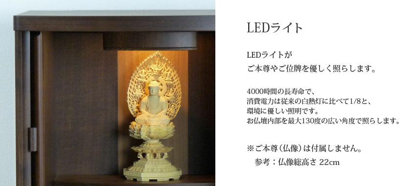 LED�饤�ȡ�LED�饤�Ȥ�����º�䤴���פ�ͥ�����Ȥ餷�ޤ���Ĺ��̿�ǡ��������ϤϽ������Ǯ������٤�1/8�ȡ��Ķ���ͥ���������Ǥ�����ʩ�����������130�٤ι������٤ǾȤ餷�ޤ�����������º��ʩ��ˤ���°���ޤ����͡�ʩ����⤵22cm