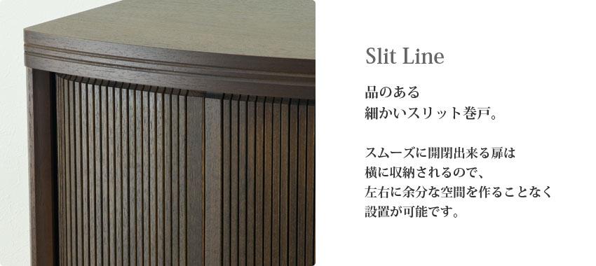 Slit Line �ʤΤ���٤�������åȴ��͡�������˳��ĤǤ�����ϲ��˼�Ǽ�����Τǡ�������;ʬ�ʶ��֤��뤳�Ȥʤ����֤���ǽ�Ǥ���