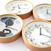 ムーミン木枠掛け時計