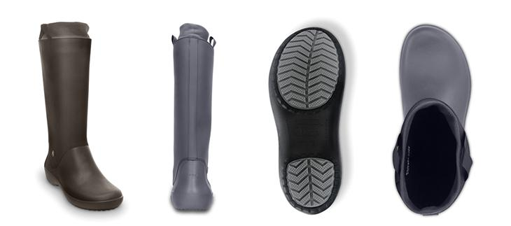 crocs�ڥ���å����� wellie rainboot w/�����꡼���쥤��֡��ġ��������